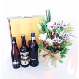 Kit Beer com vaso de flores