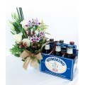 Vaso de flores e Caixa Humming